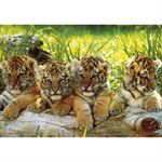 Ks Games Puzzle 200 Parça Mark Goulding Four Tigers 11325