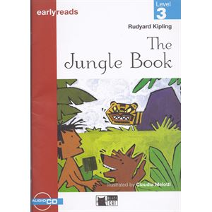 The Jungle Book - Rudyard Kipling / Earlyreads Level 3+ Cd / Black Cat