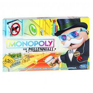 Monopoly Millennials Board Game E4989