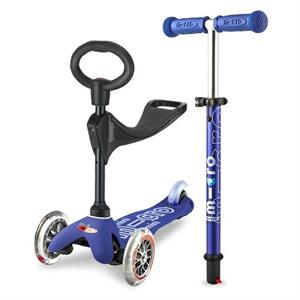 Micro Mini Scooter 3in1 Deluxe Blue MMD014